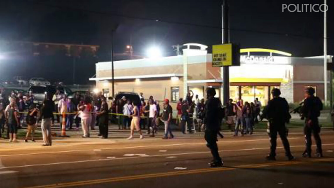 Unrest and distrust in Ferguson