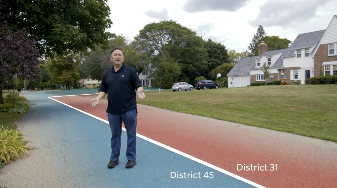 What Gerrymandering looks like on the ground