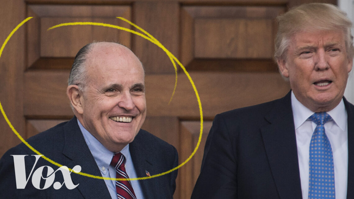 The rise and fall of Rudy Giuliani, explained